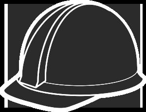 hard hat grey